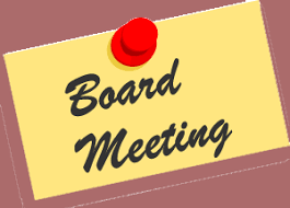 Board Meeting Agenda